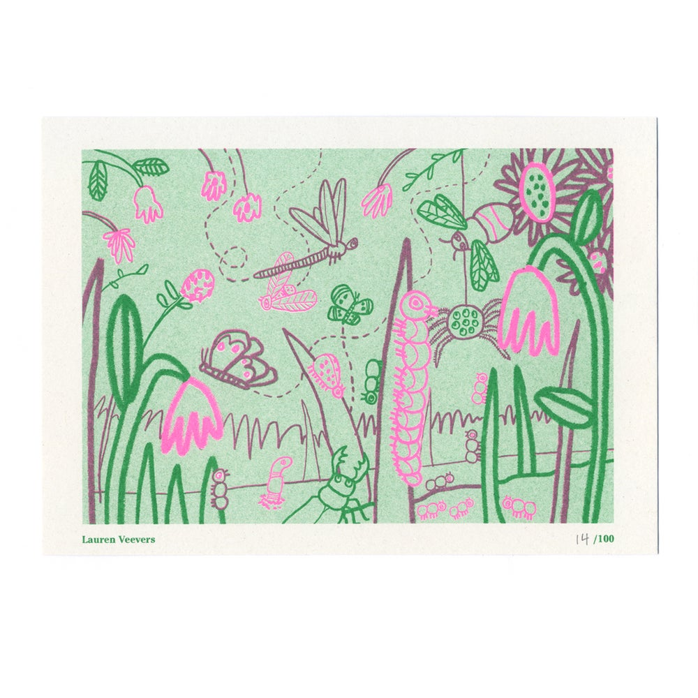 Image of Lauren Veevers - Seed Artists Series Riso Print