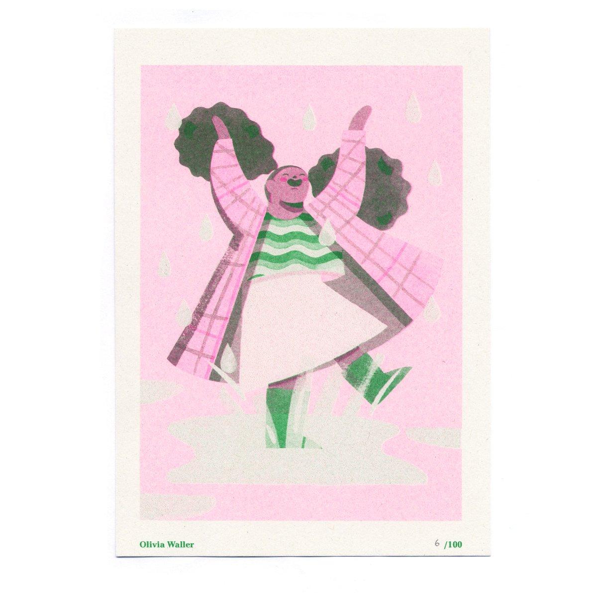 Image of Olivia Waller - Seed Artist Series Riso Print
