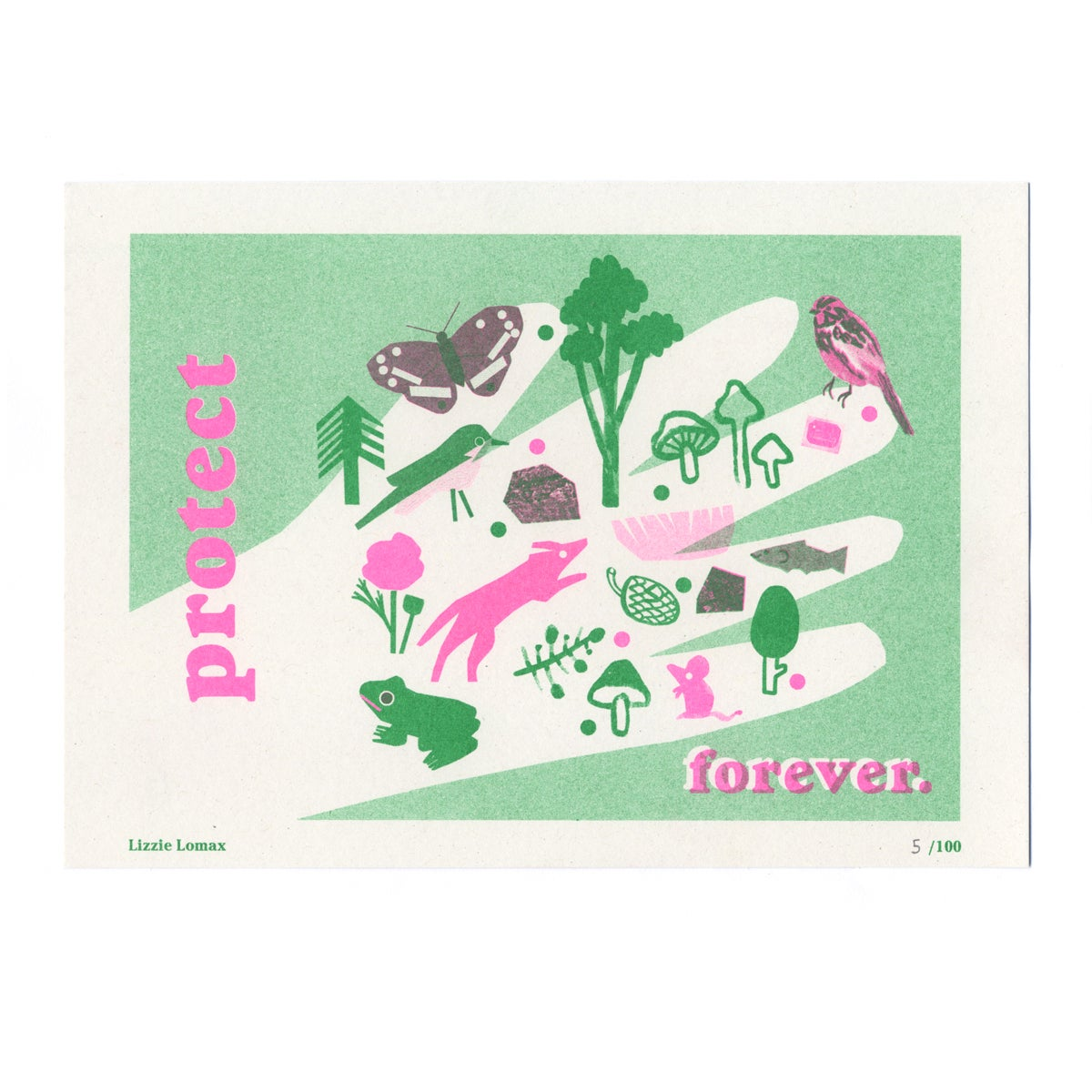 Image of Lizzie Lomax - Seed Artist Series Riso Print