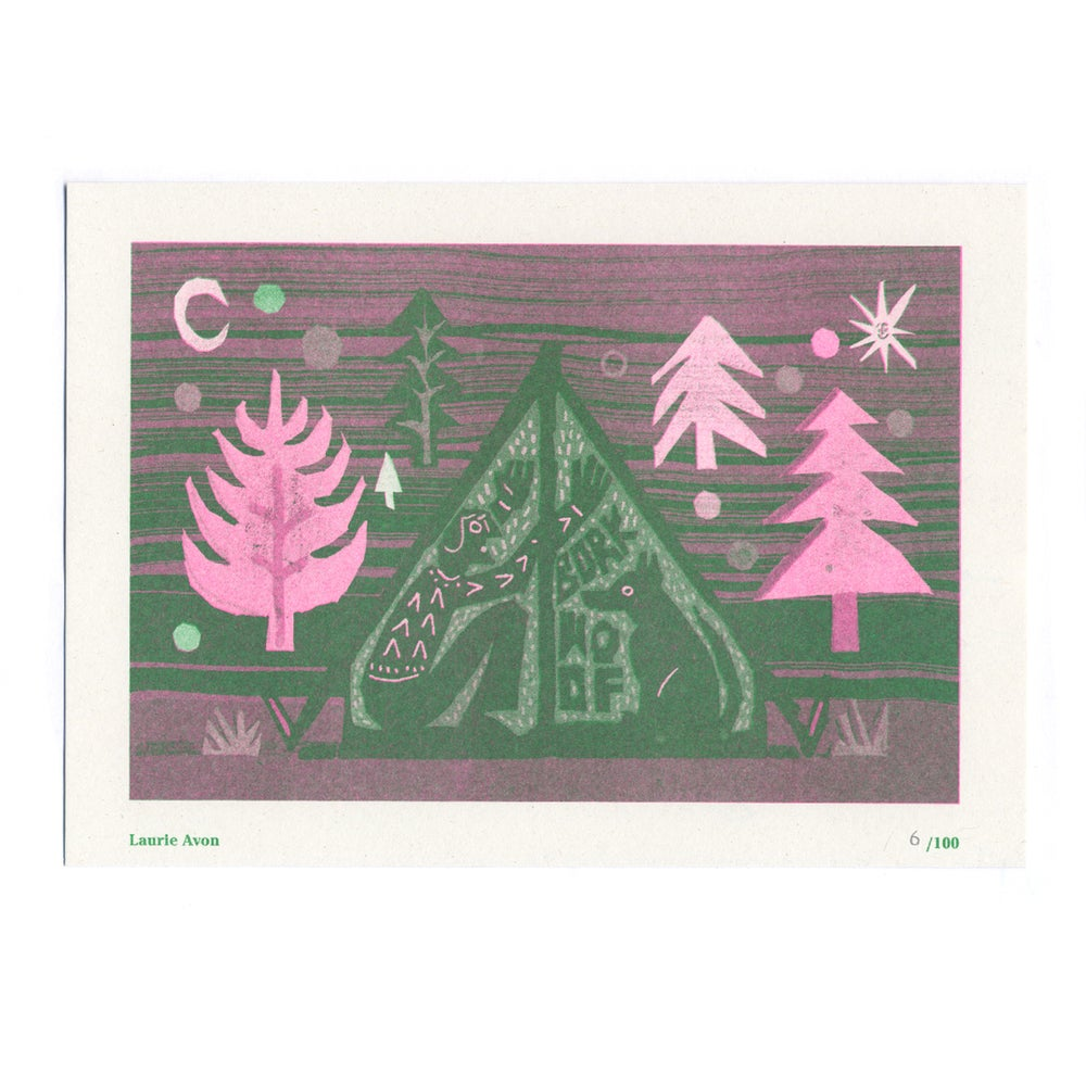 Image of Laurie Avon - Seed Artist Series Riso Print