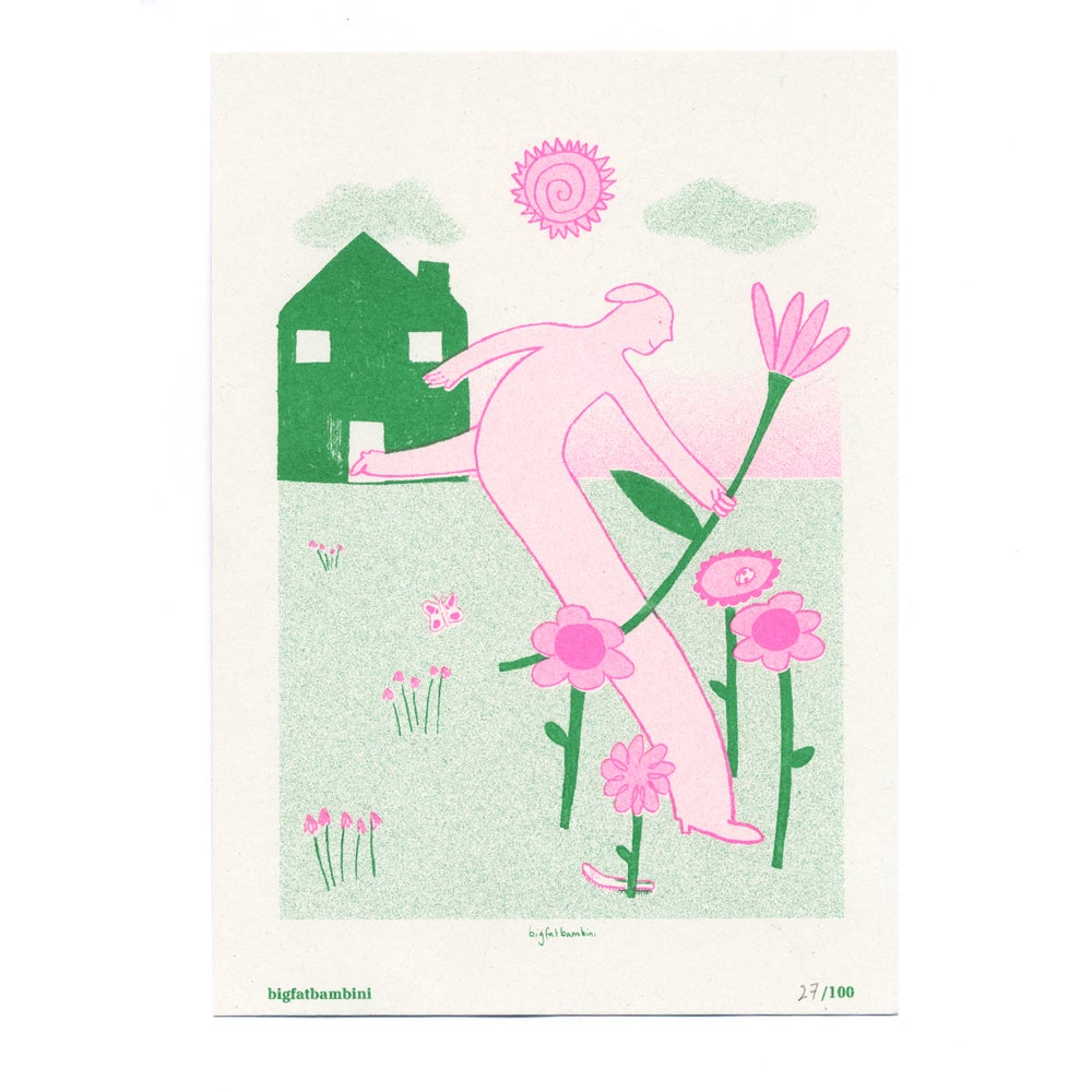 Image of Big Fat Bambini - Seed Artist Series Riso Print
