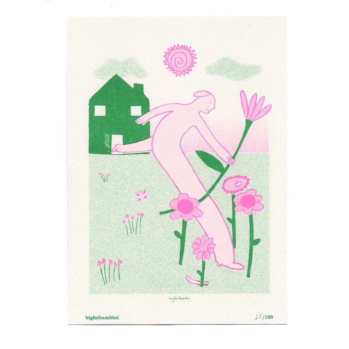 Image of Big Fat Bambini - Seed Artist Series Riso Print