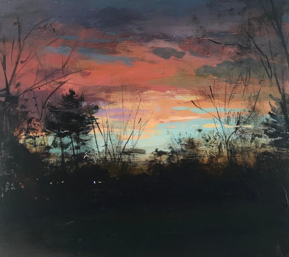 Image of Sunset sketch