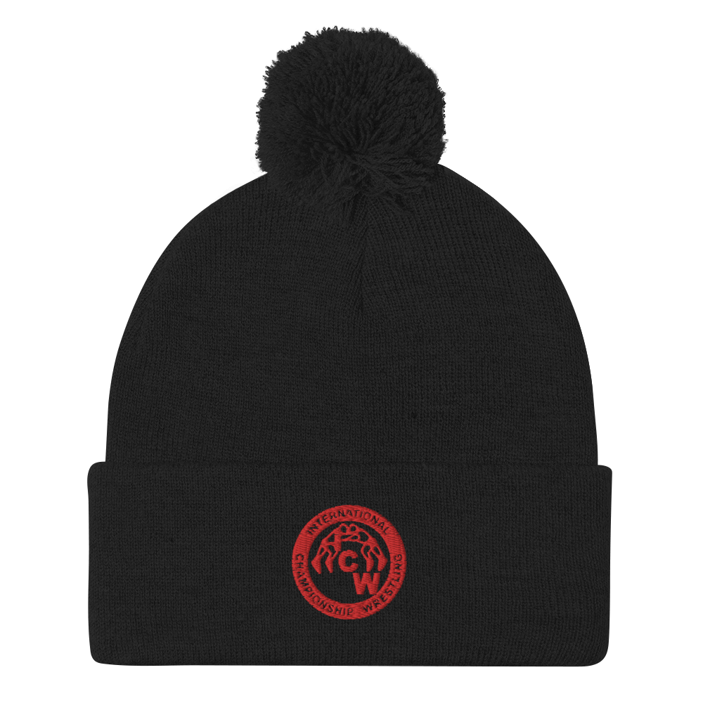Image of ICW Embroidered Logo Beanie Cap (One Size Fits All)