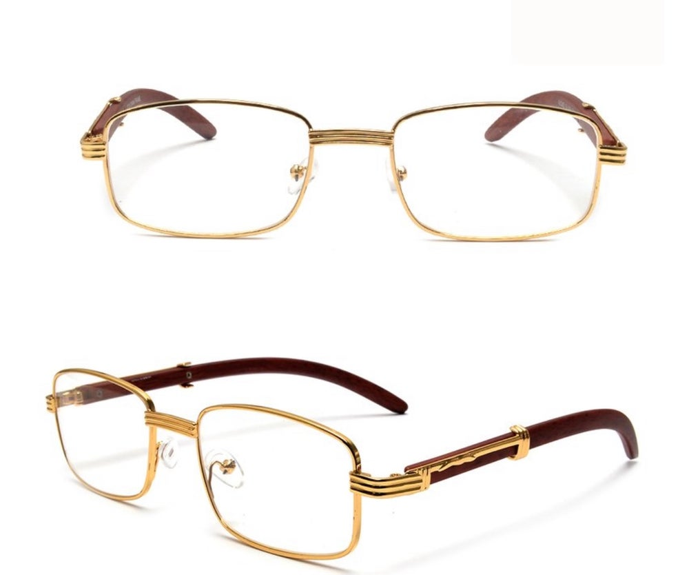 Image of Square Premium Wood Grain Frames