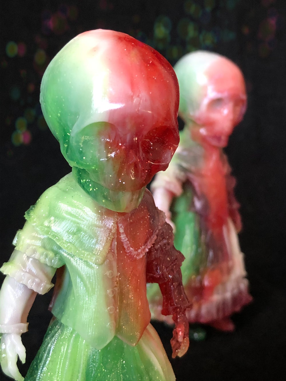 "Image of 6"" Skellene Resin ""Ghost of Xmas Past"""