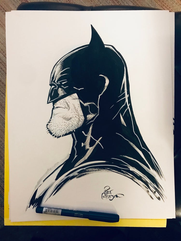 Image of LARGE BATMAN PROFILE