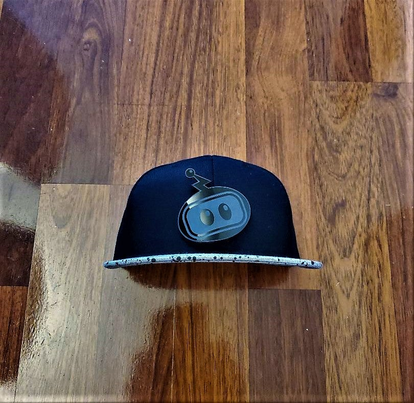 Image of Inzzo's Shed Logo Snapback (Cement)