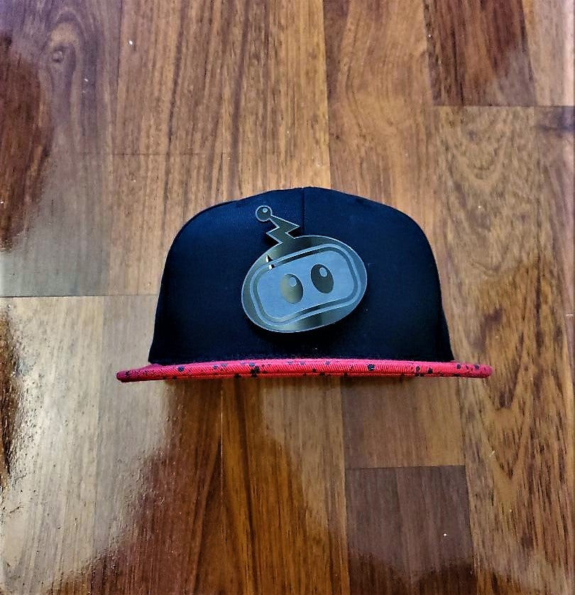 Image of Inzzo's Shed Logo Snapback (Red Cement)