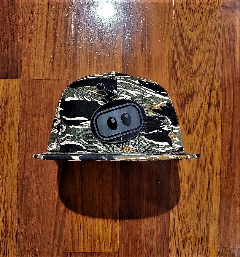 Image of Inzzo's Shed Logo Snapback (Tiger Camo)