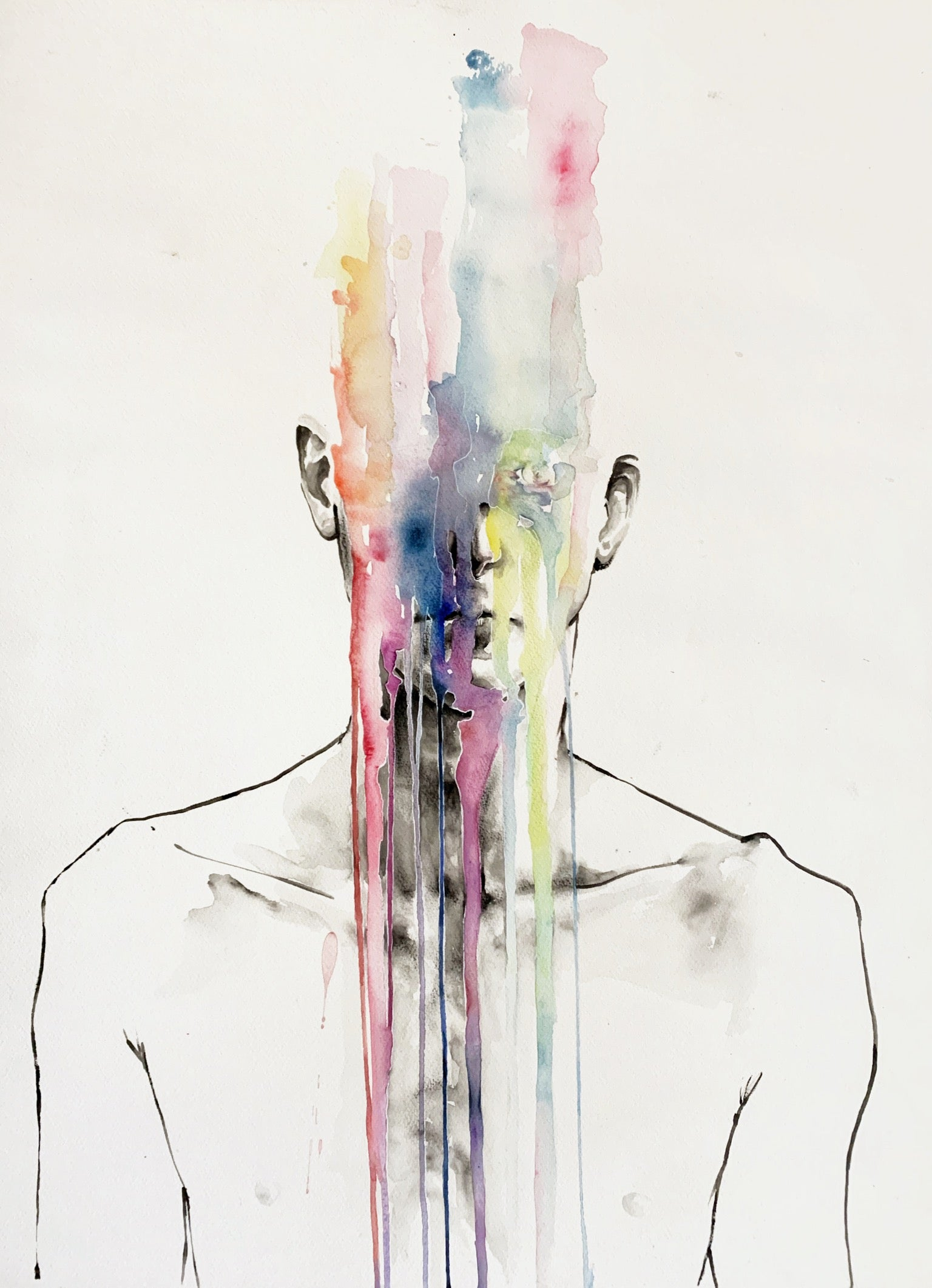 Agnes-Cecile all my art is on you but you still don't hear me