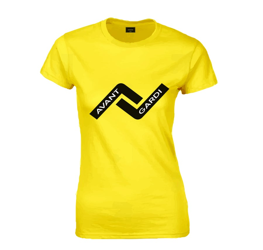 Image of TAG Tee - Yellow, Woman