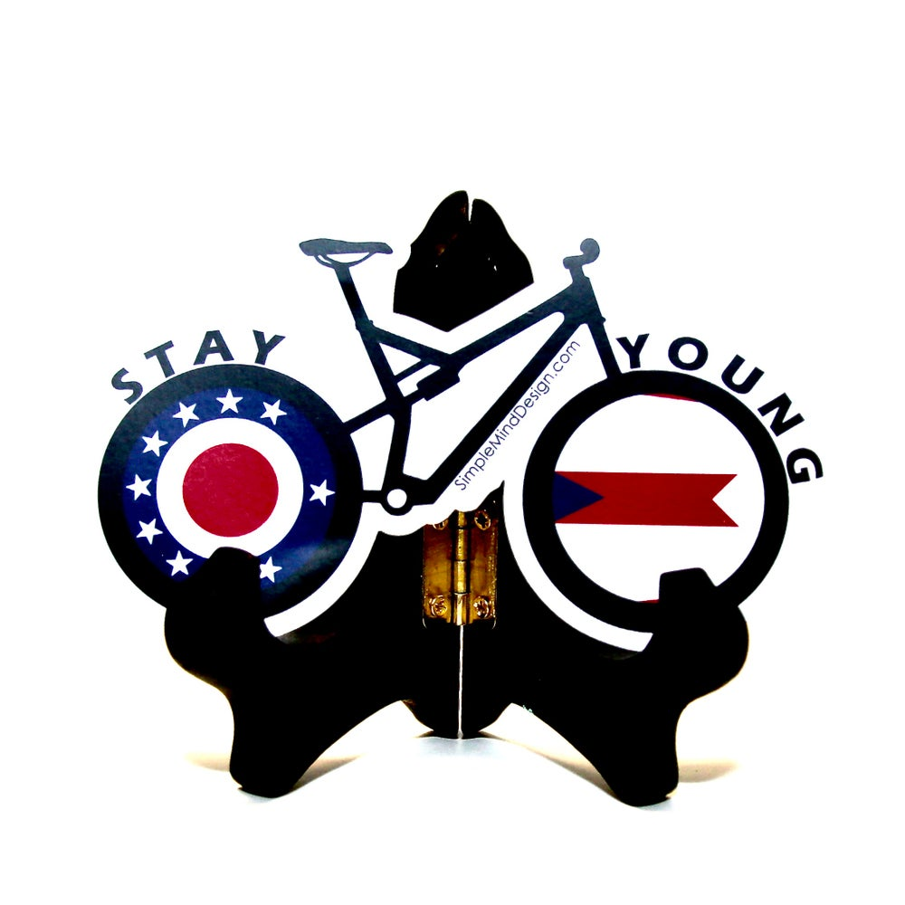Image of Ohio Mountain Bike Sticker
