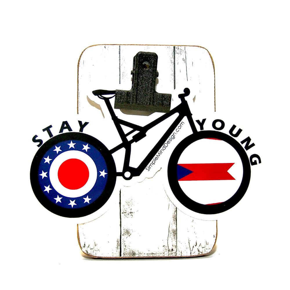 Image of Ohio Mountain Bike Sticker