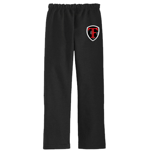 Image of Black TF Sweatpants