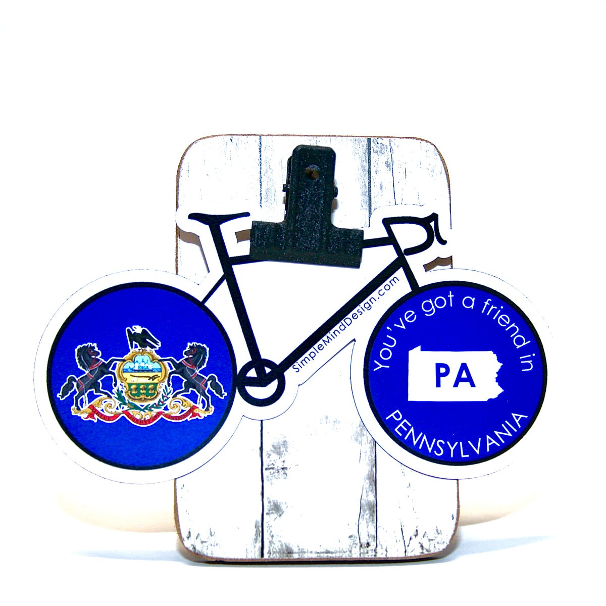 Image of Pennslyvania Road Bike Sticker