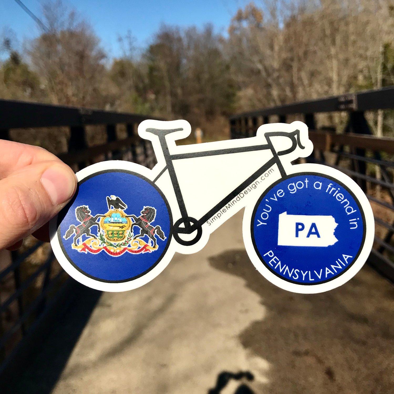Image of Pennsylvania Road Bike Magnet
