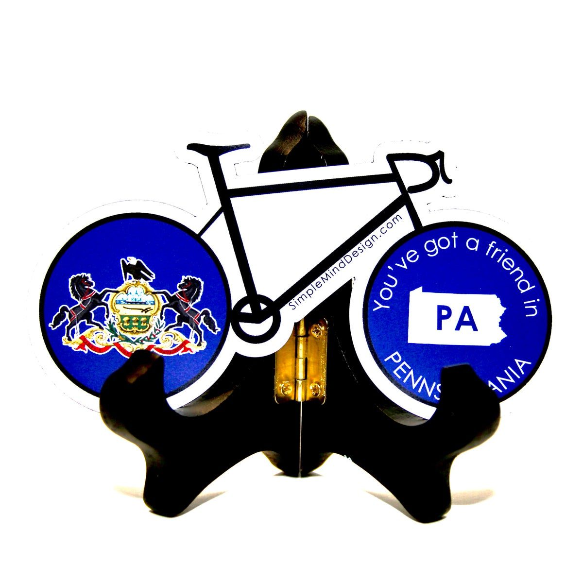 Image of Pennsylvania Road Bike Magnet
