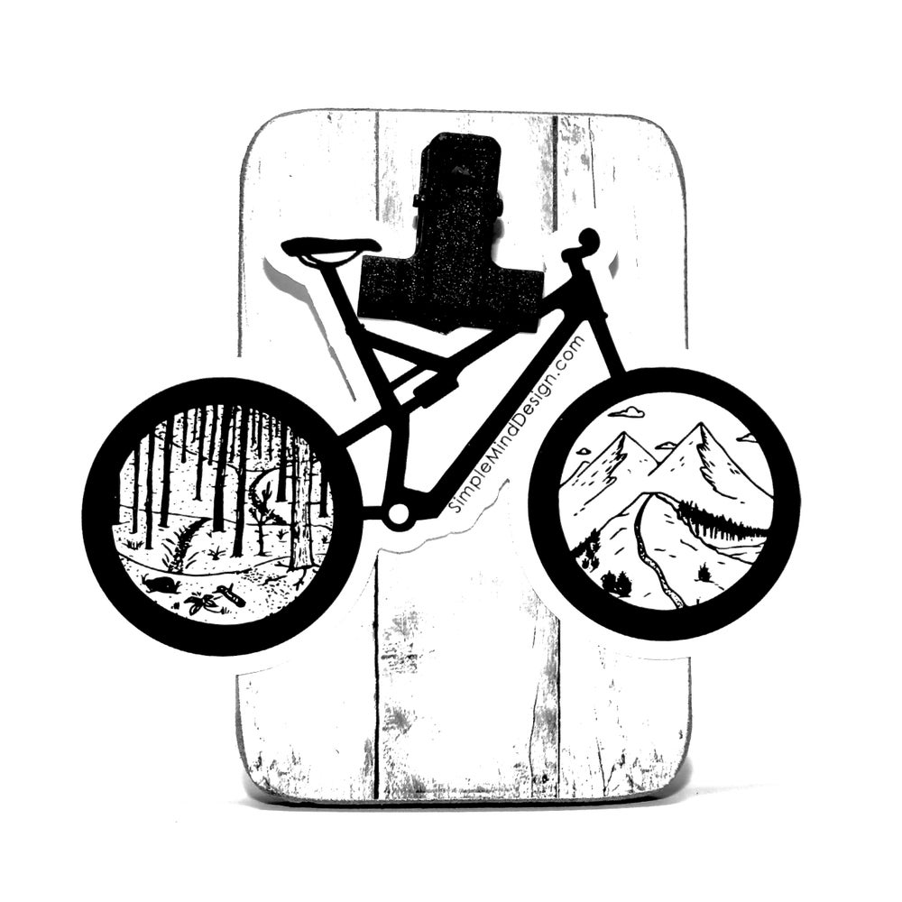 Image of Mountain Bike Sticker