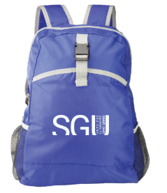 Image of Blue Backpack