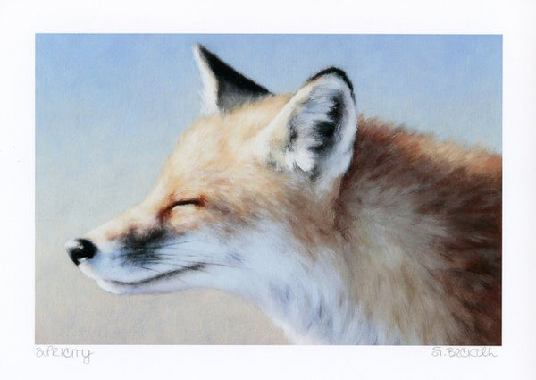 "Image of ""Apricity"" Mini Art Print"