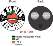Image of Pre sale Naranja seal soft enamel