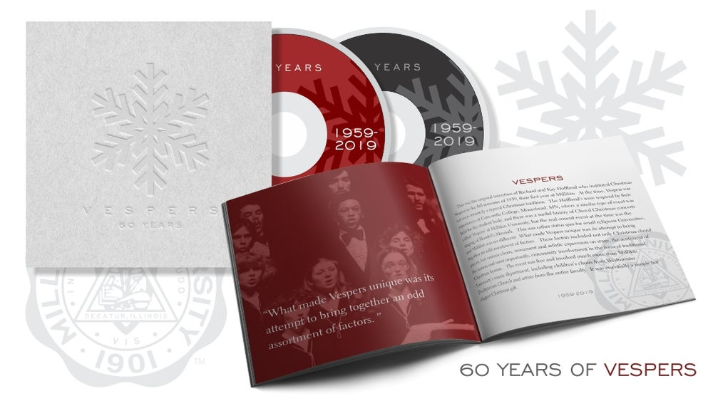 Image of Vespers LX 60th Year Anniversary 2 CD and Booklet
