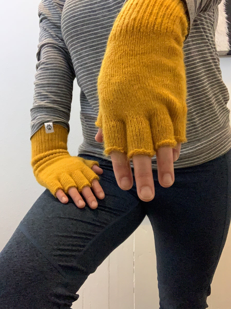 Image of Pre-Order - 2020 Harvest Collection - Ladies Fingerless Gloves