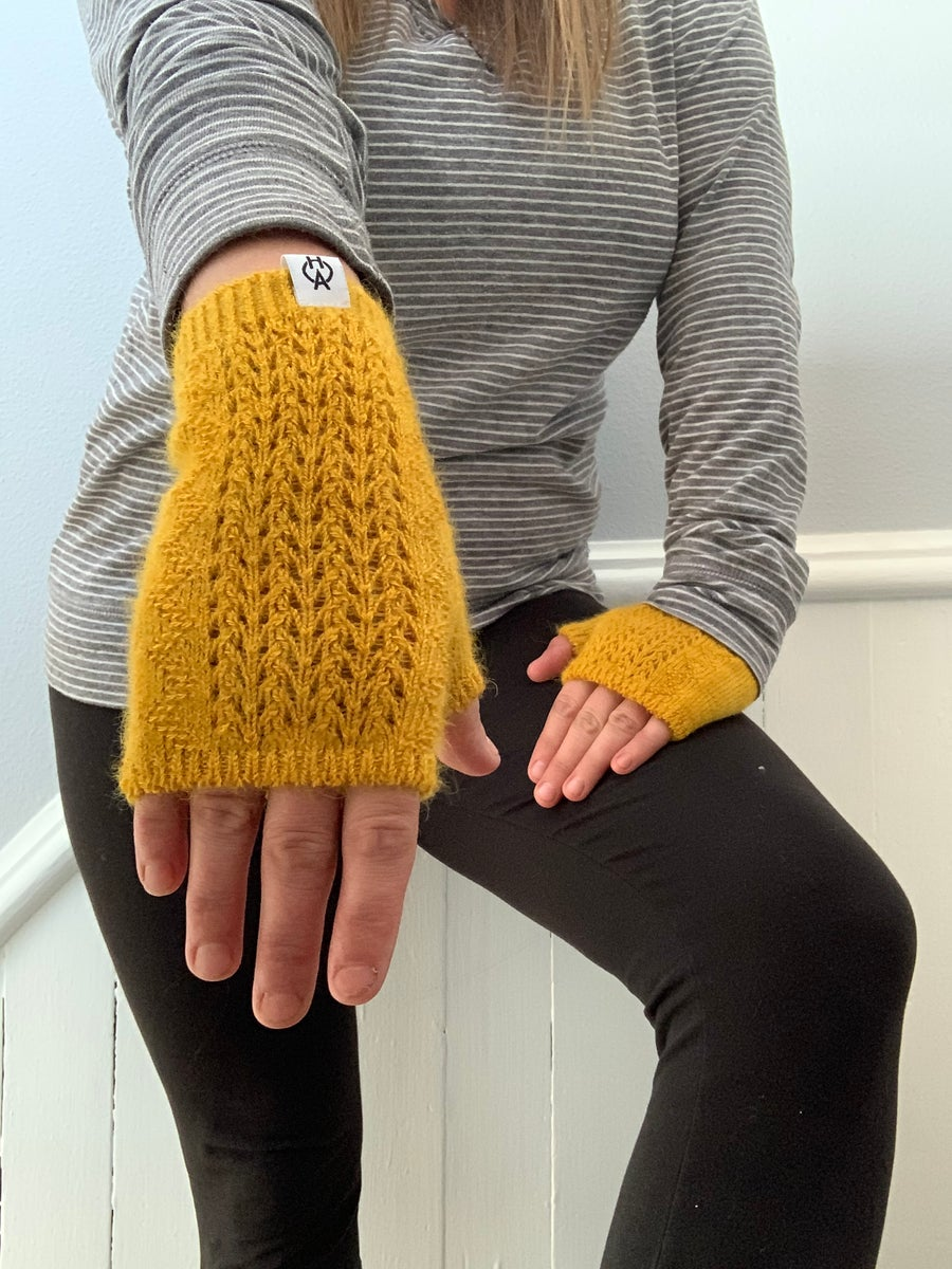 Image of Pre-Order - 2020 Harvest Collection - mesh mittens