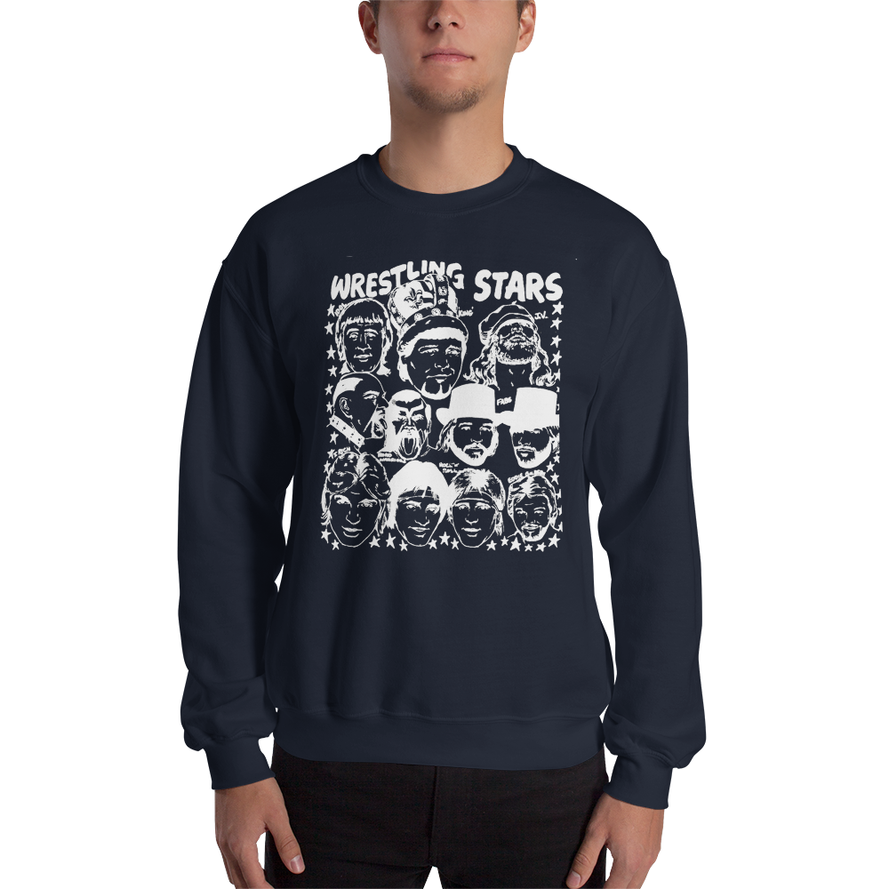 Image of Star War '84: Memphis Wrestling Stars Crewneck Shirt