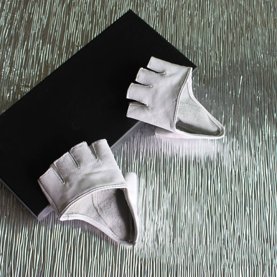 Image of Half Way Leather Gloves