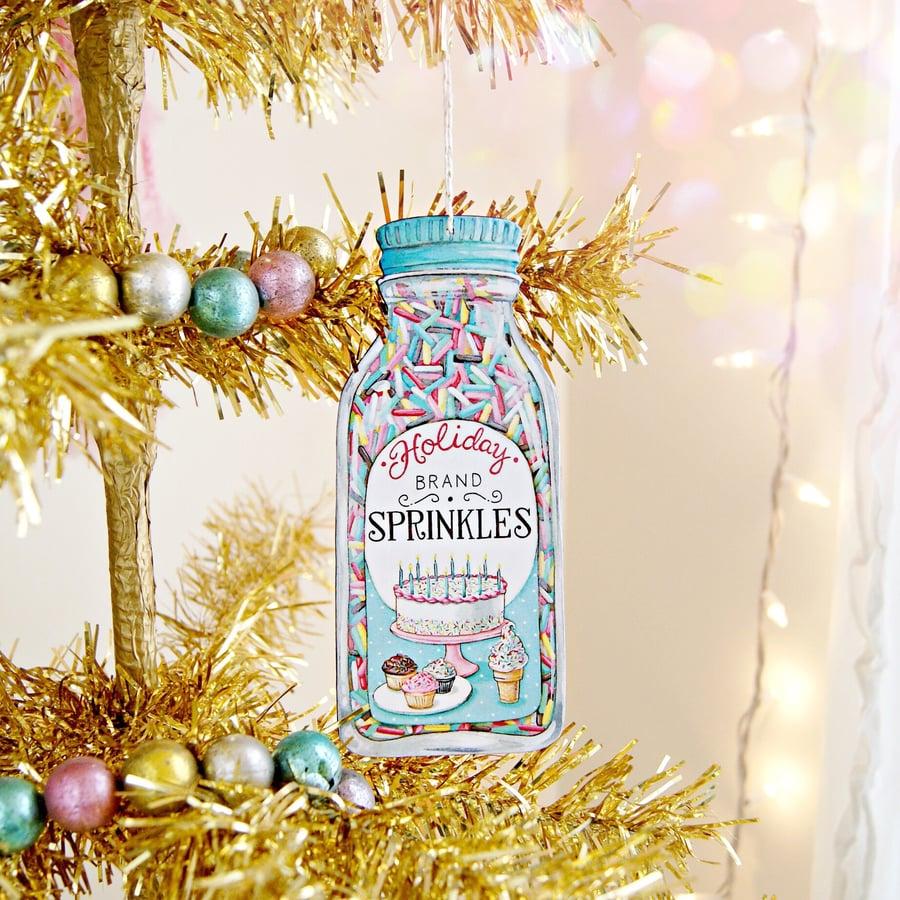 Image of Sprinkles Ornament