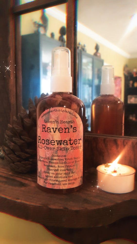 Image of Raven's Rosewater All-Over Toner