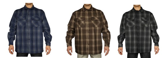 Image of FB Frisco County Wool Blend Long Sleeve Shirts