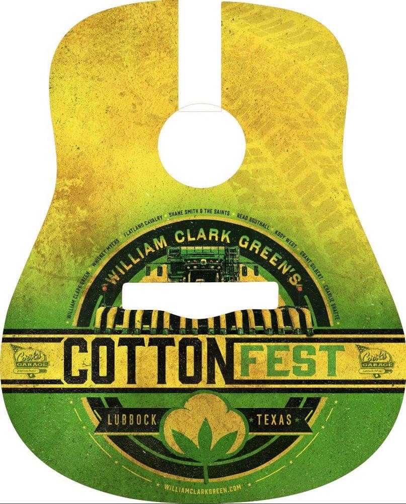 Image of Cotton Fest 2019 Guitar