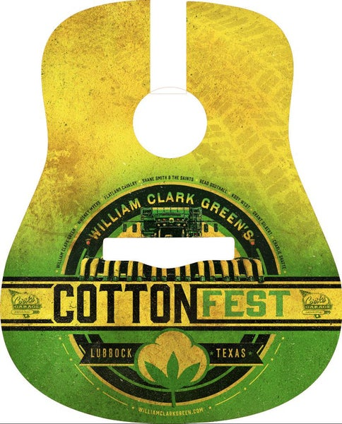 Image of Cotton Fest 2019 Guitar