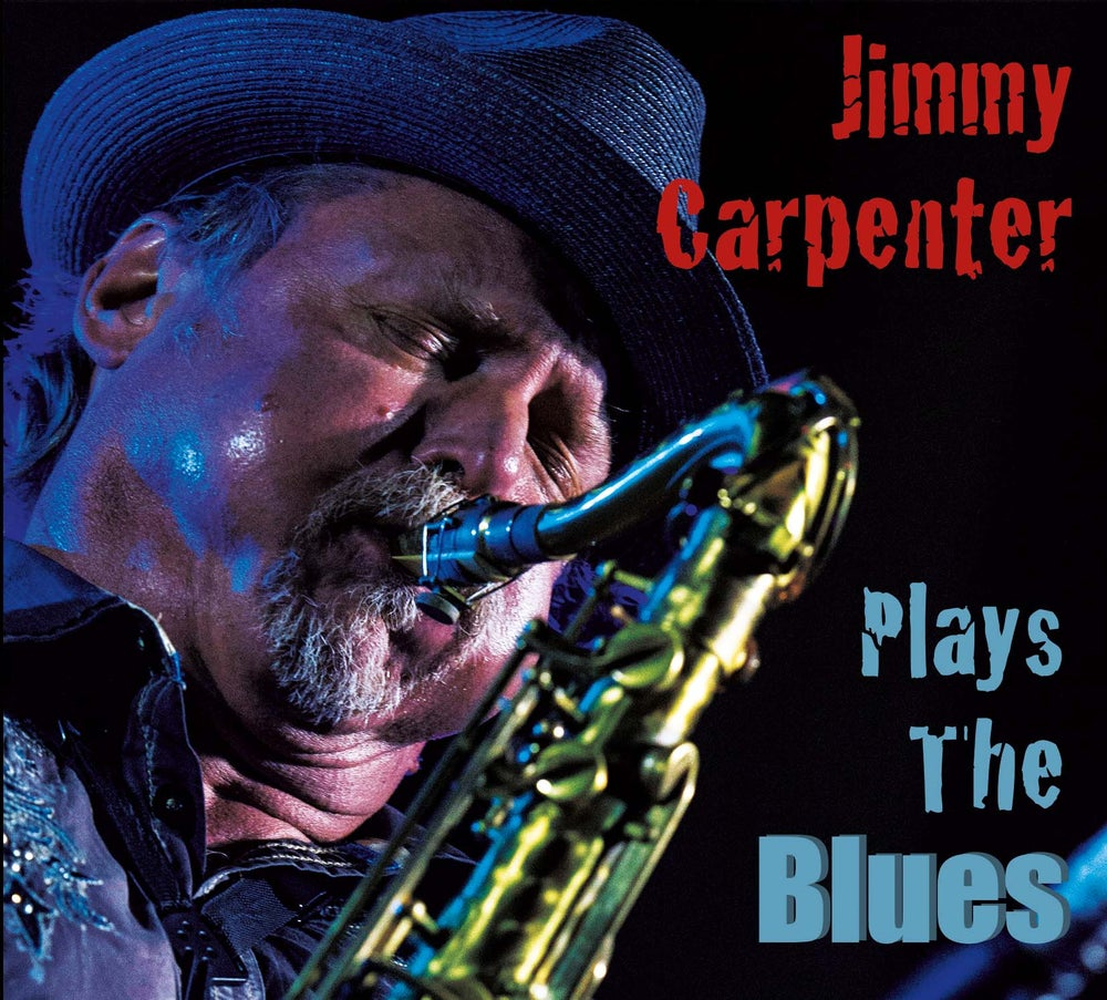Image of Jimmy Carpenter Plays the Blues