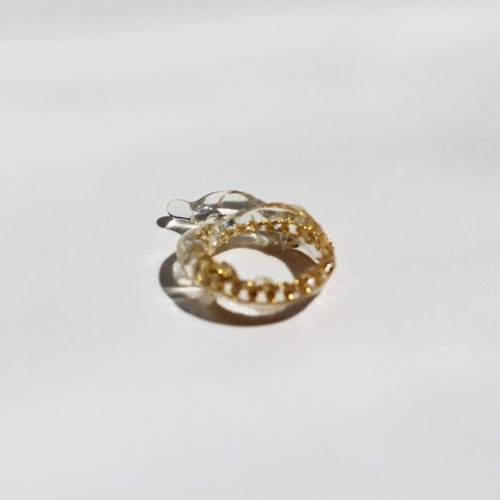 Image of Drip Ring Gold - 1