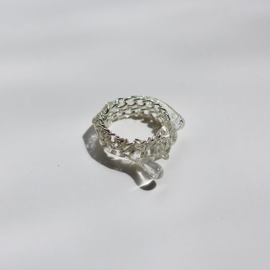 Image of Drip Ring Silver - 1