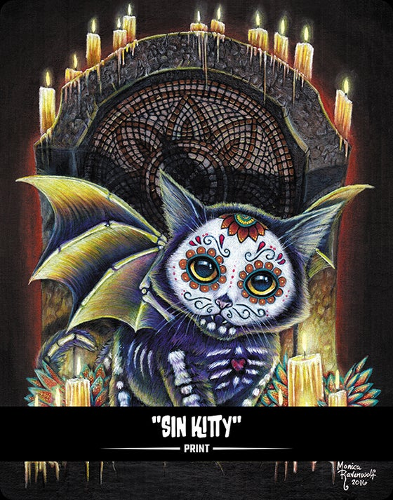 Image of Sin Kitty (BITTENS) - Print