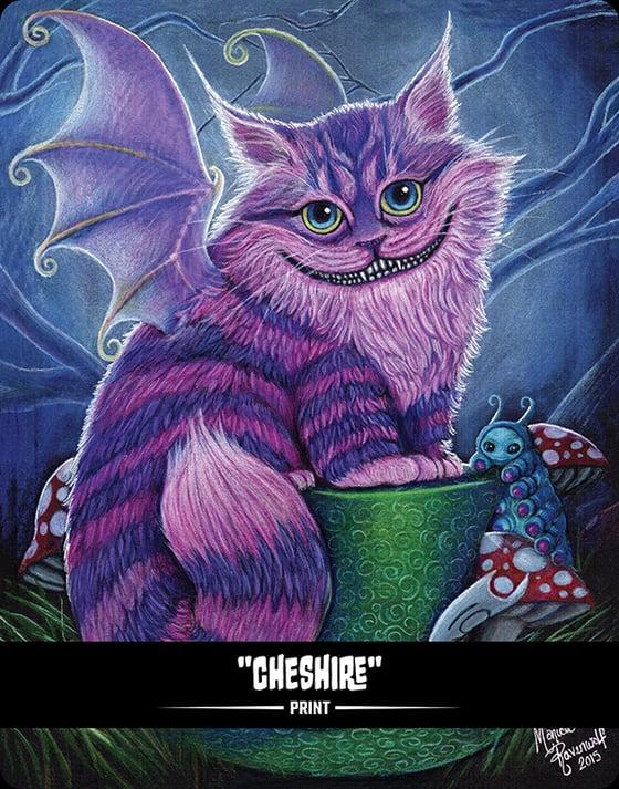 Image of Cheshire (BITTENS) - Print