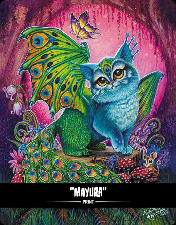 Image of Mayura (BITTENS) - Print
