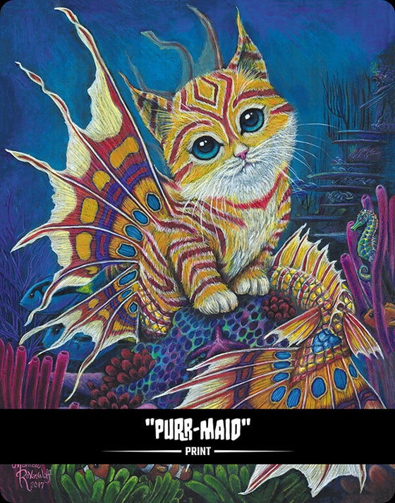 Image of Purr-Maid (BITTENS) - Print