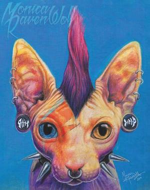 Kitty Stardust - Print
