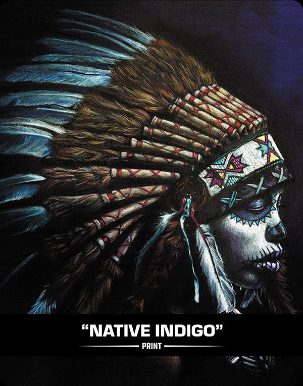 Image of Native Indigo (SUGAR SIN) - Print