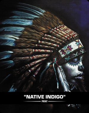 Native Indigo (SUGAR SIN) - Print