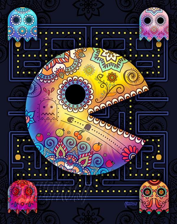Image of Pac Muertos (SUGAR SIN) - Print
