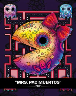 Mrs. Pac Muertos (SUGAR SIN) - Print