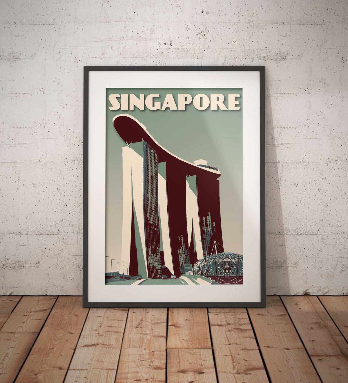 Image of Singapore #Marina Bay Sands