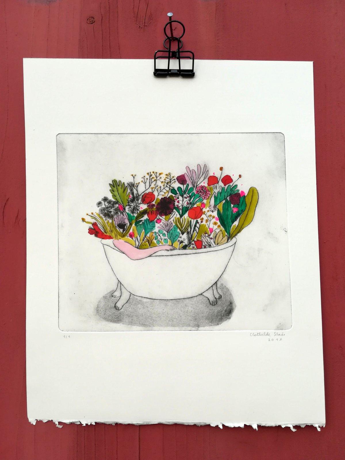 Image of Bain de fleurs